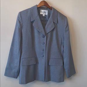 Executive Collection Grey 2 Piece Skirt Suit